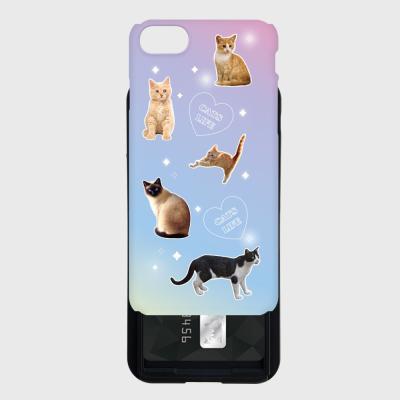 cat love 카드슬라이드 케이스