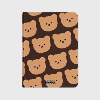 Dot big bear-brown(아이패드-커버)