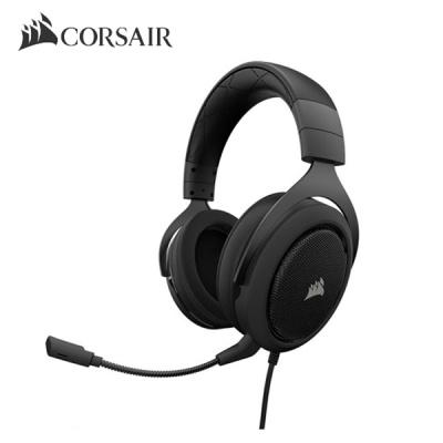 커세어 서라운드 게이밍 헤드셋 HS60 CARBON (탈부착 마이크 / 디스코드 인증 / 7.1채널 어댑터)