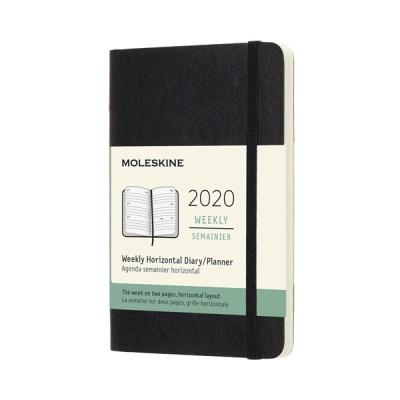 몰스킨 2020위클리(가로형)/블랙 소프트 P