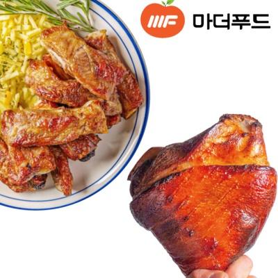 [마더푸드] 만화고기 몽다리, 통쪽갈비 5종 택 1