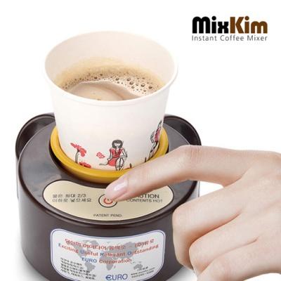 인스턴크 커피 자동 믹서 믹스김