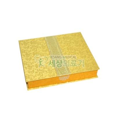 표지발이상자 노랑 30구(1ea) 청병상자 한의원약상자