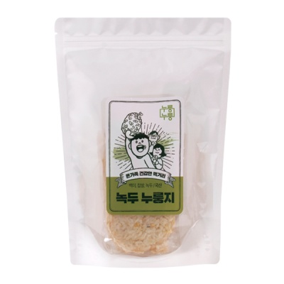 [누룽누룽] 수제 녹두 누룽지 (1봉)