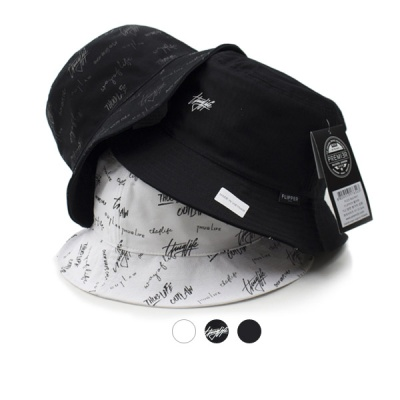 [디꾸보]양면 벙거지 레터링 모자 DCH-OH156R