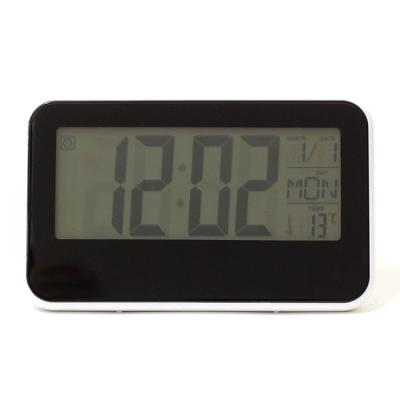 블럭 디지털 온도계 탁상시계