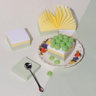 케이크 메모지 II 청포도