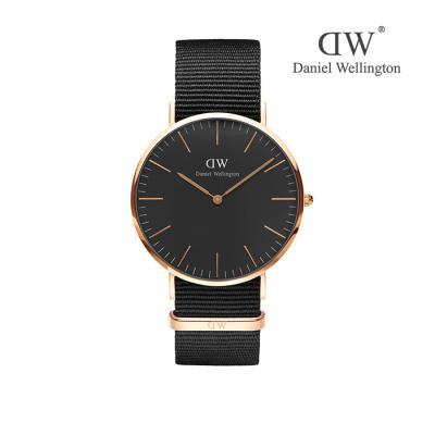 Classic Man Cornwall 남녀공용시계(나토밴드)_DW00100148