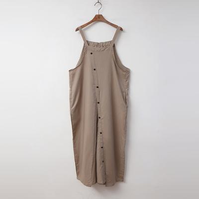 Linen Button Jumpsuit