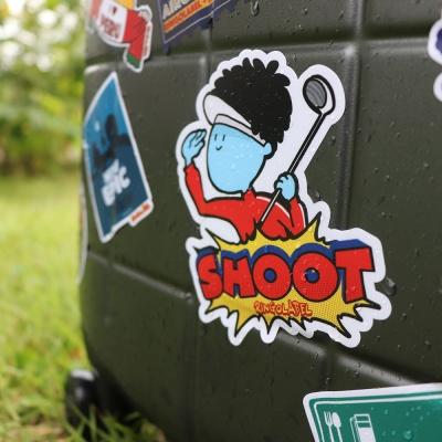 보 땅콩버터 - 캐리어/노트북 스티커