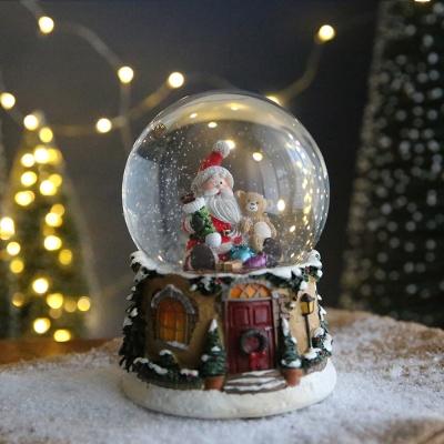 크리스마스 스노우볼 오르골 워터볼 L