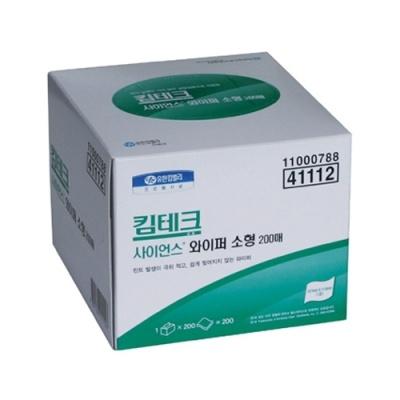[유한킴벌리] 킴테크사이언스 와이퍼소형200매X60팩 41112 [박스/60] 330939