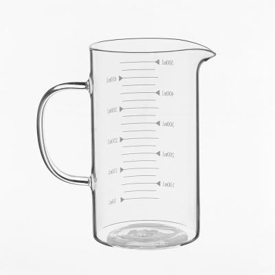 로하티 쿠킹 유리 계량컵(500ml) /베이킹 계량비커