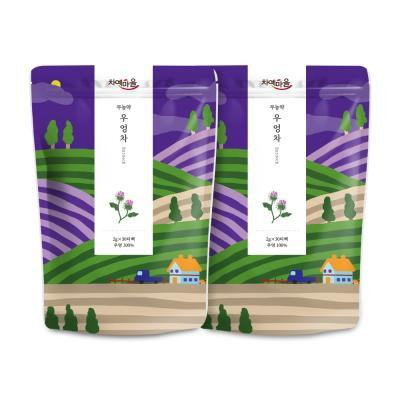 차예마을 볶은 무농약우엉차 30티백 x 2팩