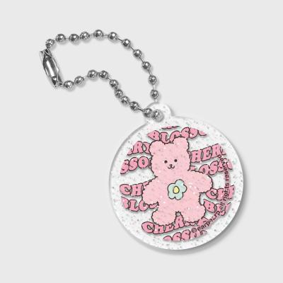 Circle Blossom bear friends(글리터키링)
