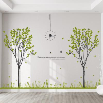 th673-반짝이는나무숲_그래픽시계