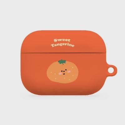 sweet tangerine 에어팟프로 하드케이스