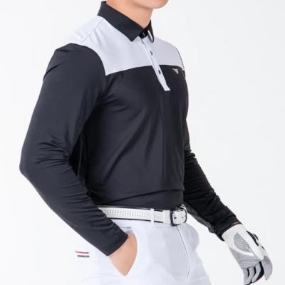 골프웨어 골프복 긴팔 티셔츠 남성 기능성 라운딩 D10