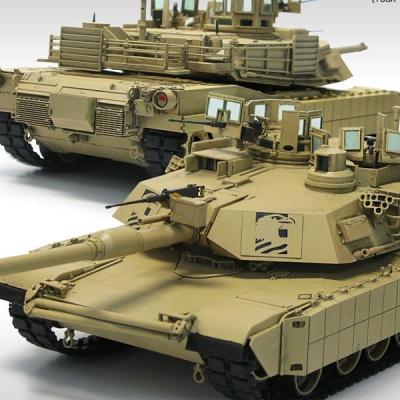 M1A2 터스크 1/35 프라모델 아카데미 탱크 모형