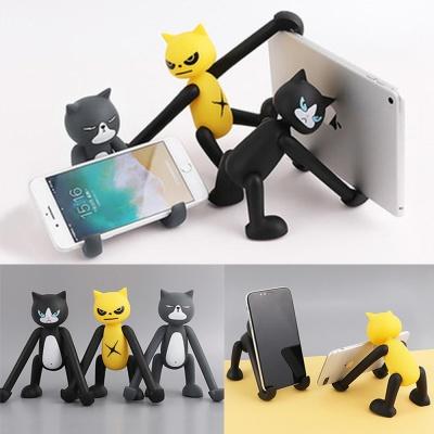 고양이 피규어 휴대폰 거치대/스마트폰 태블릿 스탠드