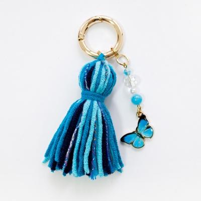 푸른나비 태슬 키링