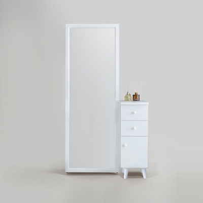 로디 전신거울 서랍 화장대 (착불)