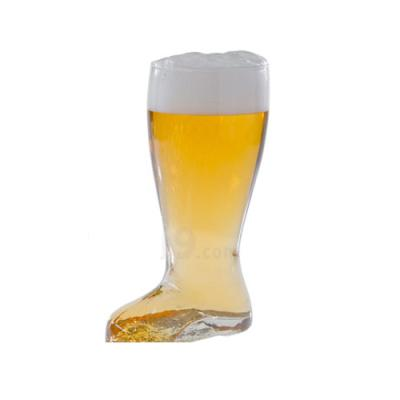 [마누크리스탈]특이한 맥주잔 다스비어부츠맥주잔(1P/1L)대형맥주잔해외배송