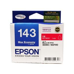 엡손(EPSON) 잉크 C13T143370 / NO.143 / 진홍 / Wor