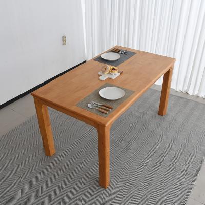 이보 원목 식탁 테이블 4인용