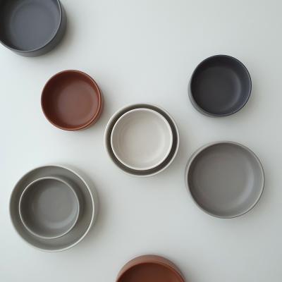 포홈 모던무광 찬기3호 그릇 (4color)