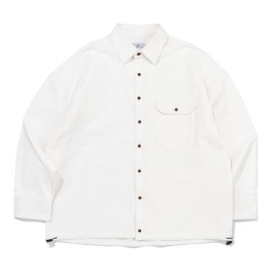 CB 아콘 스트링 셔츠자켓 (아이보리)