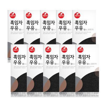 [서울우유] 흑임자우유 190ml x 24