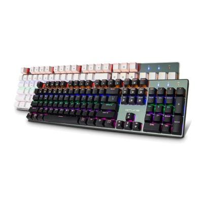 한성컴퓨터 GTune 레인보우백라이트 기계식키보드 MKF30S RAINBOW (오테무스위치 / 체리식 / 청축,갈축,적축)