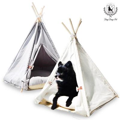 딩동펫 애견 하우스 인디언 트리 텐트 하우스