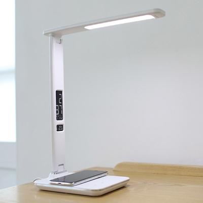 [무아스] 무선충전 시계 LED 스탠드