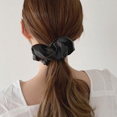 레더 곱창 머리끈