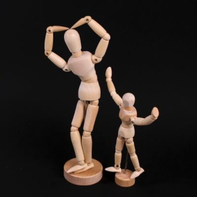 갓샵 원목 나무 구체관절인형 데생인형 미술용품 목각