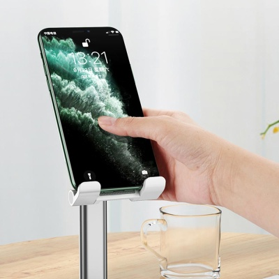 휴대폰 태블릿 높이 각도 조절 접이식 스탠드 거치대