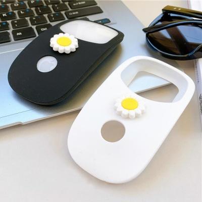 국화 애플 매직마우스 1/2 실리콘 보호 커버 케이스