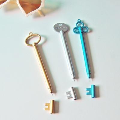 열쇠 볼펜 잉크펜