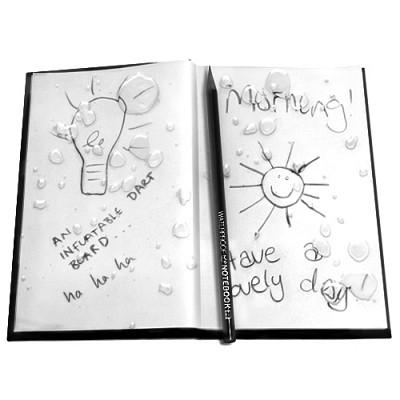 [원더스토어] 럭키스 방수 노트 Water Proof Notebook