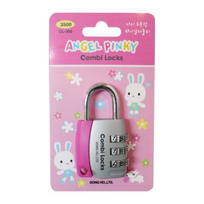 번호열쇠CL-302 (핑크) (개)209275