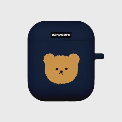 Dot big bear-navy(Air pods)