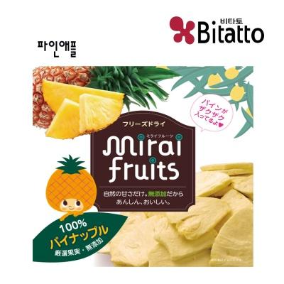 [비타토 국내생산 미래과일] 동결건조과일칩 파인애플
