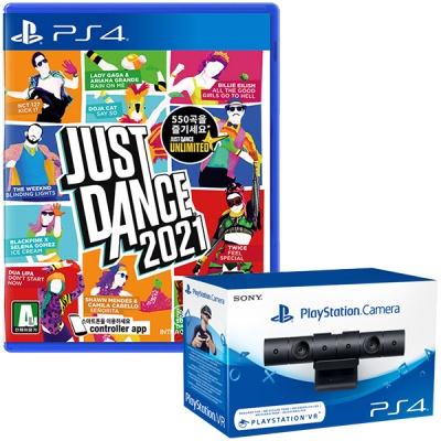 PS4 저스트댄스 2021 한글판 (카메라포함)