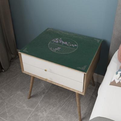 협탁 테이블 가죽매트(35x40cm) 침대협탁방수커버