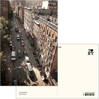 I LOVE NEW YORK (Post card ver.01) - New york 024