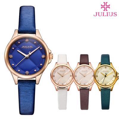 줄리어스 여성 가죽 시계 JA-882 스몰레니온(5color)