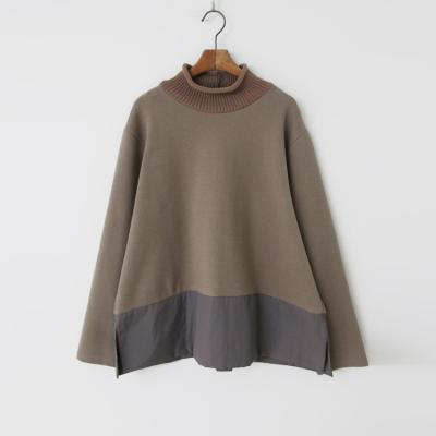 Bonding Turtleneck Blouse - 1온스