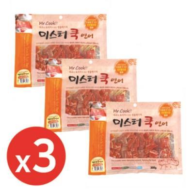 미스터쿡300g 연어스테이크칩 x3개 강아지간식